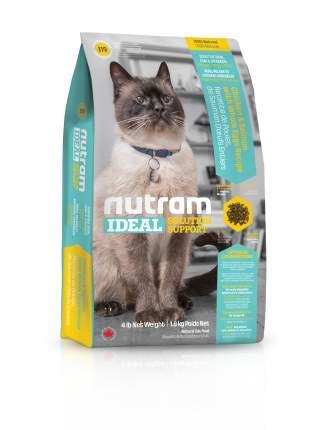 Сухой корм для кошек Nutram Sensitive, для чувствительных, домашняя птица, лосось, 0,4кг