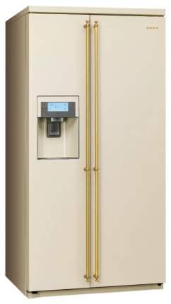 Холодильник Smeg SBS8003P Beige