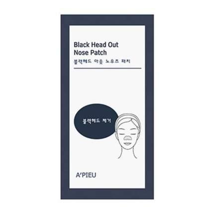 Патчи для носа A`PIEU Black Head Out Nose Patch 1 шт