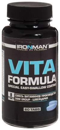Витаминно-минеральный комплекс Ironman 60 табл. без вкуса