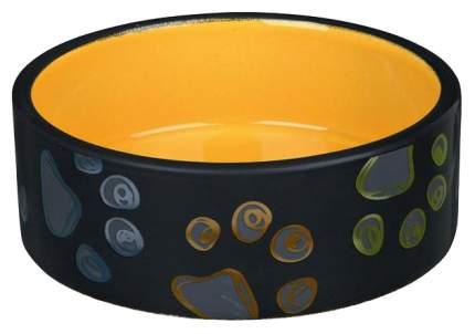 Одинарная миска для кошек TRIXIE, керамика, разноцветный, 1.5 л