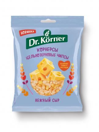Чипсы  Dr. Korner цельнозерновые кукурузно-рисовые с сыром 50 г