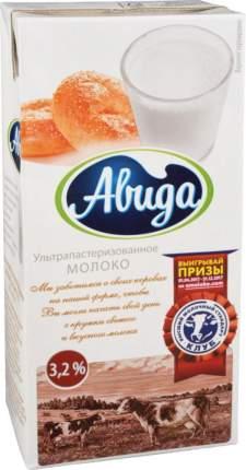 Молоко Авида ультрапастеризованное  3.2% 1 л