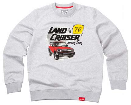 Мужская толстовка Toyota Land Cruiser 70 TMHRTSCM01S Grey