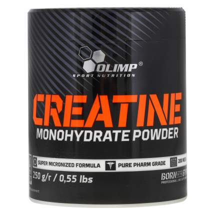 Креатин Olimp Creatine Monohydrate Powder, 250 г, unflavored