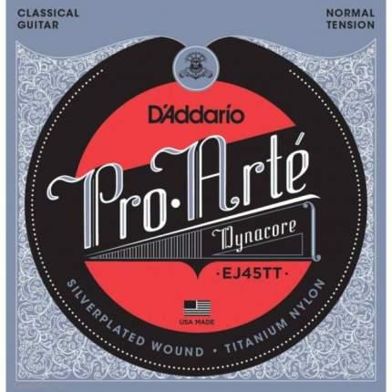 Струны для классической гитары D ADDARIO EJ45 TT