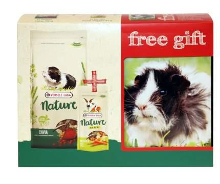 Корм для морских свинок Versele-Laga Nature Cavia + лакомство + контейнер в подарок