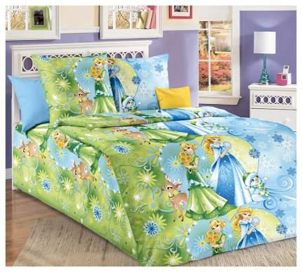 Комплект Детского постельного белья Сестрички 1,5 спальный, бязь