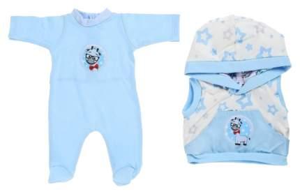 Одежда для кукол 38-42 см «Жилет и комбинезон для мальчика» Colibri