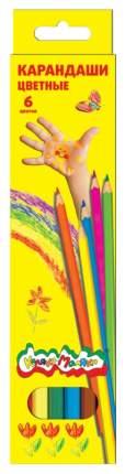 Набор из 6 цветных карандашей Каляка-Маляка