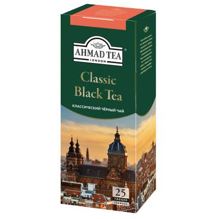 Чай черный Ahmad Tea классический 25 пакетиков