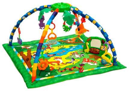 """Игровой коврик Funkids """"Delux Step Up Gym"""", расцветка: """"Лес"""" (арт. CC9990)"""
