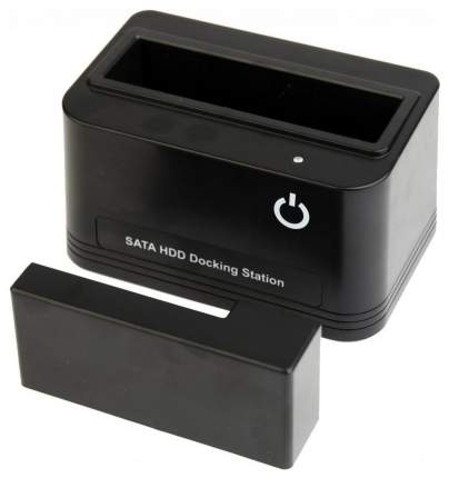 "Докстанция 2,5""/3,5"" Gembird HD32-U2S-4, черный, USB 2,0, SATA, HDD/SSD"