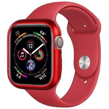 Чехол COTEetCI Aluminium Magnet Case для Apple Watch Series 4 44 mm Red