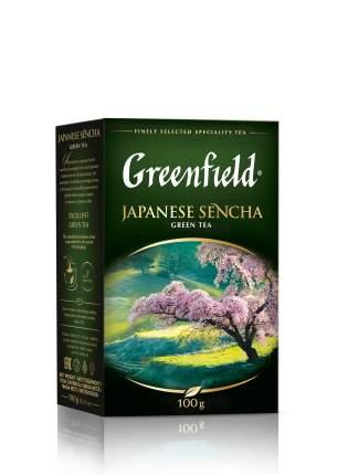 Чай зеленый Greenfield листовой japanese sencha 100 г