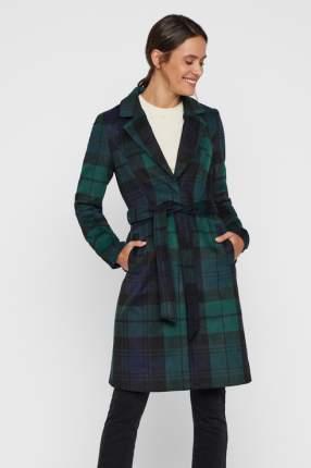 Пальто женское Vero Moda 10215527 зеленое M