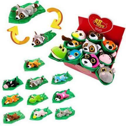 Серия Витаминки игрушки мягкие в одеялках-листочках 20 см, 10 персонажей 12 шт в упаковке
