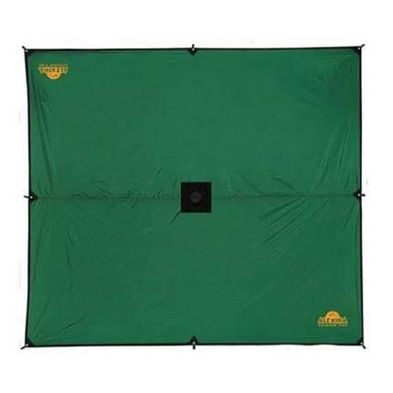 Тент Alexika Tarp зеленый 4 x 4 м