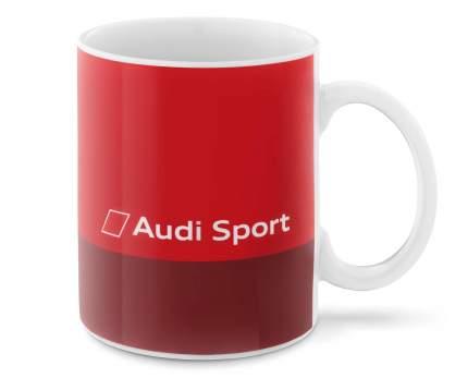Кружка Audi Quattro VAG 3291800500 красная
