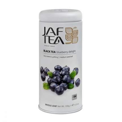 Чай Jaf Tea Blueberry Delight черный с голубикой 100 г
