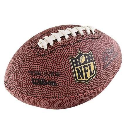 Мяч для американского футбола Wilson NFL Mini сувенирный 0, коричневый
