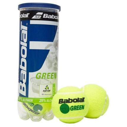 Мяч теннисный Babolat Green, зеленый