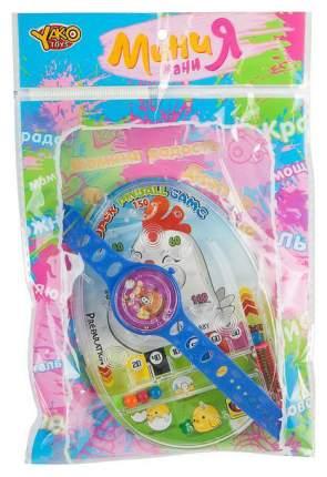 Набор пласт.игровой часы, пинбол, МиниМаниЯ, РАС 23х1х16 см, арт.M6362.
