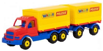 Автомобиль Wader бортовой тентовый с прицепом Сталкер