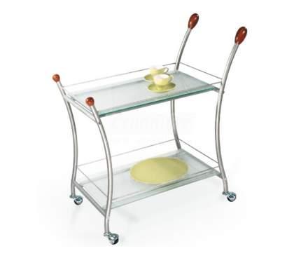 Стол сервировочный Поло металлик/ матовое