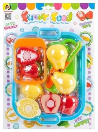 """Игровой набор """"Овощи и фрукты"""", резка на липучках"""