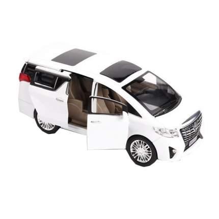 Инерционная машинка Cars микроавтобус ALF белый