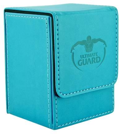 Коробочка Ultimate Guard под кожу на 100 карт, синяя