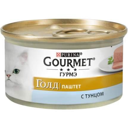Консервы для кошек Gourmet Gold, паштет с тунцом, 12шт по 85г