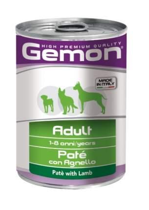 Консервы для собак Gemon Adult, все породы, паштет с ягненком, 400г