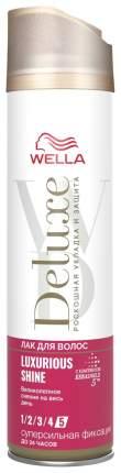 Лак для волос Wella Deluxe Luxurious Shine 250 мл