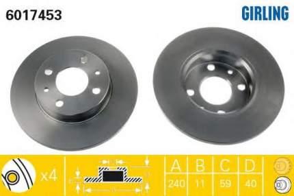 Тормозной диск GIRLING 6017453