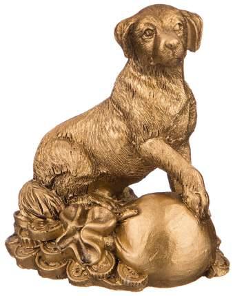 Статуэтка Lefard Собака 156-950 Золотистый