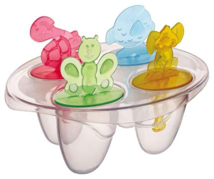 Набор форм для мороженого Qlux L441 Прозрачный, голубой, красный, зеленый, желтый