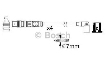 Провода высоковольтные BOSCH 0986356331