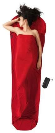 Вкладыш в спальник Cocoon Thermolite Radiator Mummyliner красный 220X80/60 см
