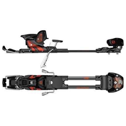 Крепления горнолыжные Atomic T Tracker MNC 16 S 2017, черные/оранжевые, 130 мм