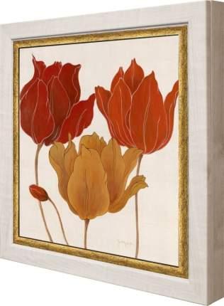 "Ключница ""Tava Studios - Austin's Tulips II"" Клен"