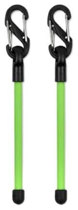 """Карабин с хомутом Nite Ize Gear Tie Clippable 3"""" 2 шт. GLZ-17-2R7 Lime"""