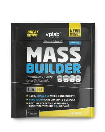 Гейнер VPLab Mass Builder 100 г Banana