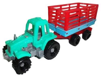Машинка пластиковая Toybola Трактор с прицепом TB-010
