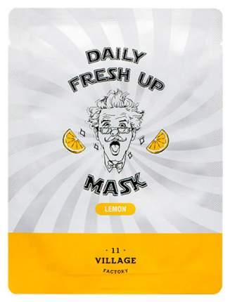 Маска для лица Village 11 Factory Daily Fresh Up Mask Lemon 20 мл
