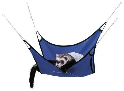 Гамак для хорьков и крыс Ferplast искусственный мех, металл, нейлон 30x30см синий