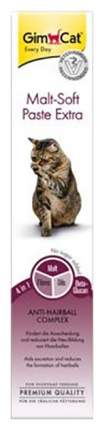 Паста для выведения шерсти для кошек GimPet Malt-Soft Extra, 200 г