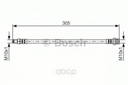Шланг тормозной Bosch 1987481442