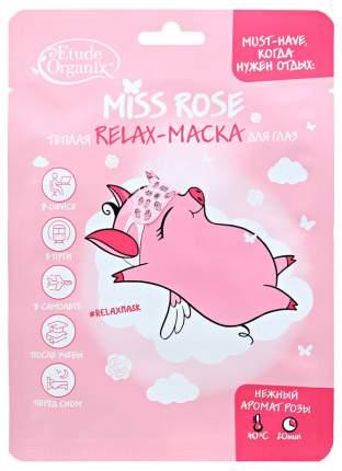 Маска для глаз Etude Organix Relax Miss Rose 12 г